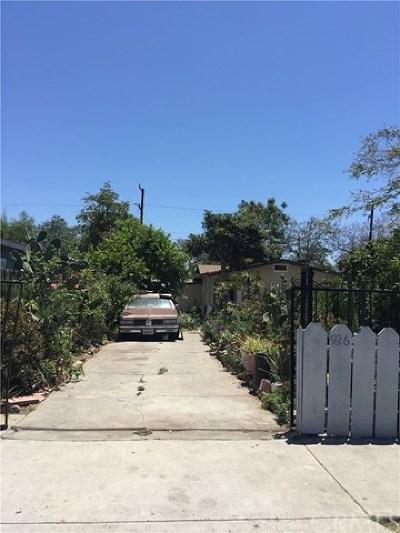 Santa Ana Single Family Home For Sale: 926 W Chestnut Ave