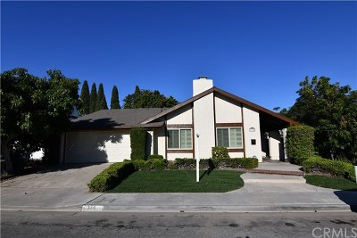 Costa Mesa Single Family Home For Sale: 3374 Wisteria Circle
