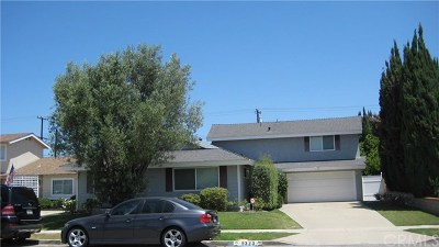 Fountain Valley Single Family Home For Sale: 9323 El Valle Avenue