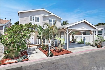 Newport Beach Mobile Home For Sale: 201 Tremont Drive