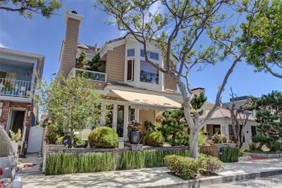 Newport Beach Single Family Home For Sale: 122 Pearl Avenue