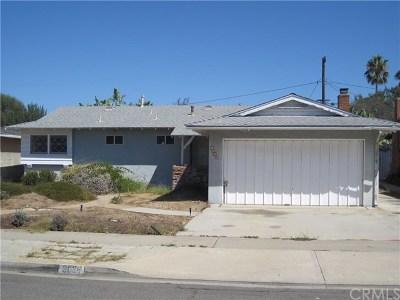 Costa Mesa Single Family Home For Sale: 3036 Killybrooke Lane