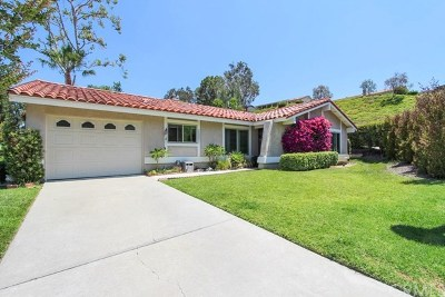 Mission Viejo Single Family Home For Sale: 28051 Via Machado