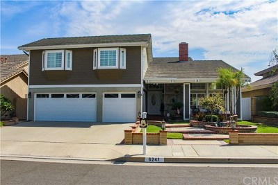 Huntington Beach Single Family Home For Sale: 6241 Moonfield Drive