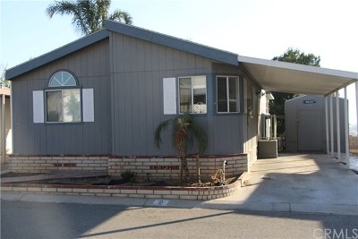 Riverside Mobile Home For Sale: 3700 Quartz Canyon Road