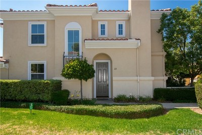 Rancho Santa Margarita Condo/Townhouse For Sale: 22 Via Vicini
