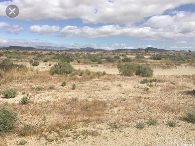 Barstow CA Residential Lots & Land For Sale: $25,000