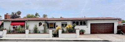 San Clemente Single Family Home For Sale: 613 Avenida De La Estrella
