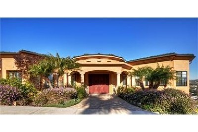 San Clemente Single Family Home For Sale: 2 Mar Del Rey