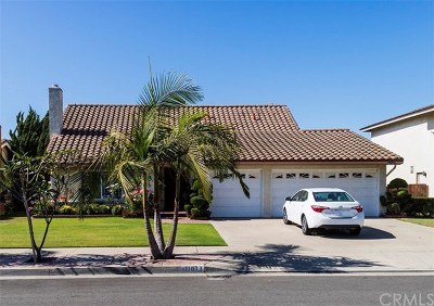 Fountain Valley Single Family Home Active Under Contract: 11073 Begonia Avenue