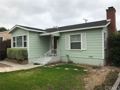 Long Beach Single Family Home For Sale: 1420 Redondo Avenue