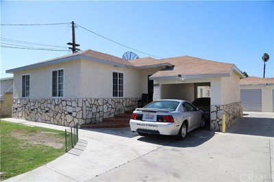 Paramount Multi Family Home For Sale: 8207 2nd Street
