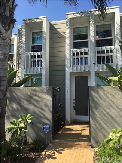 Huntington Beach Condo/Townhouse For Sale: 4045 Warner Avenue
