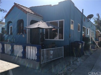 Los Angeles Single Family Home For Sale: 112 W 48th Street