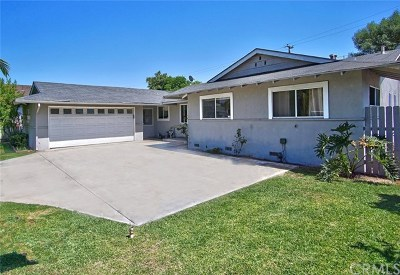 Tustin Single Family Home For Sale: 17762 Wellington Avenue