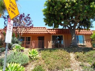 San Juan Capistrano Condo/Townhouse For Sale: 26551 La Zanja Street #29E