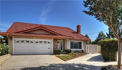 Fountain Valley Single Family Home For Sale: 8985 Yuba River Avenue