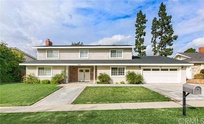 La Habra Single Family Home For Sale: 1341 E North Hills Drive