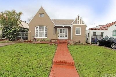 Los Angeles Single Family Home For Sale: 4711 S Victoria Avenue