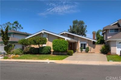 Irvine Single Family Home For Sale: 7 Elmwood