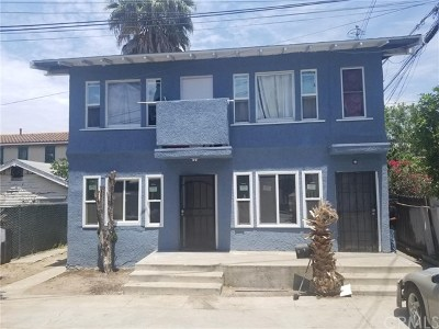 Long Beach Multi Family Home For Sale: 219 E 10th Street