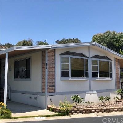 San Juan Capistrano Mobile Home For Sale: 27703 Ortega Highway