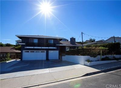 Dana Point Single Family Home For Sale: 33111 Marina Vista Drive