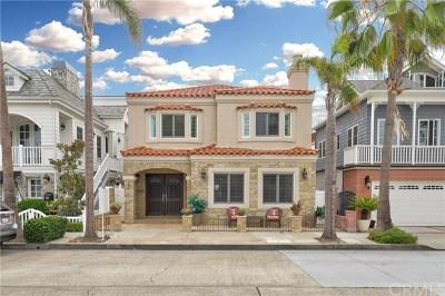 Balboa Peninsula Point (Blpp) Single Family Home For Sale: 445 Seville Avenue
