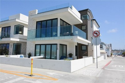 Newport Beach Single Family Home For Sale: 926 E Oceanfront