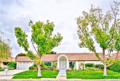 Fullerton Single Family Home For Sale: 764 Arbolado Drive
