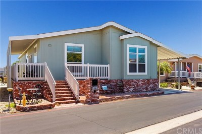 Huntington Beach Mobile Home For Sale: 16222 Monterey Lane