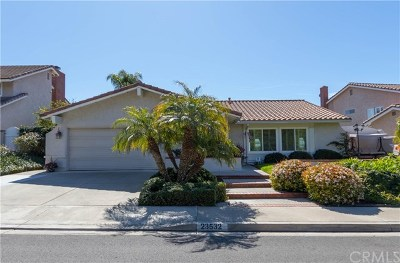 Mission Viejo Single Family Home For Sale: 23532 Via Chiripa
