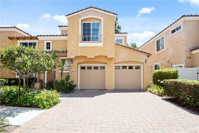 Aliso Viejo Condo/Townhouse For Sale: 8 Vista Del Valle