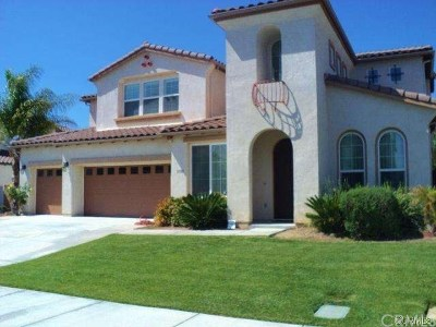 Temecula Single Family Home For Sale: 31180 Hickory Place