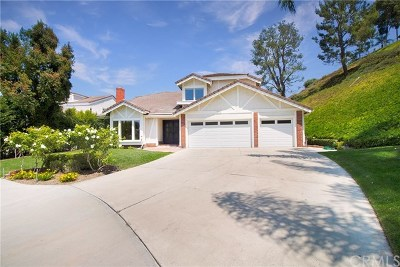 Anaheim Hills CA Single Family Home For Sale: $995,000