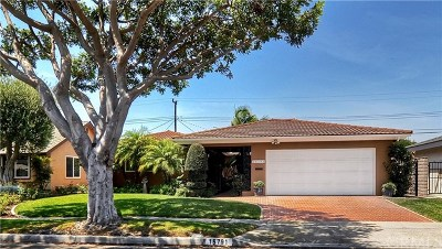 Huntington Beach Single Family Home For Sale: 15791 Dundalk Lane