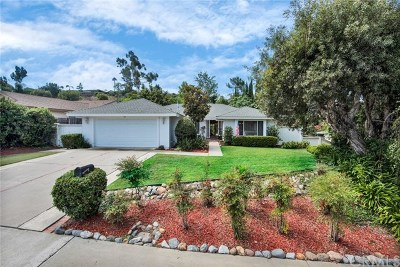 Laguna Niguel Single Family Home For Sale: 25286 Adelanto Drive