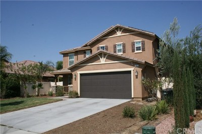 Perris Single Family Home For Sale: 3421 Sequoia Court