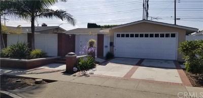 Costa Mesa Single Family Home For Sale: 3257 Iowa Street