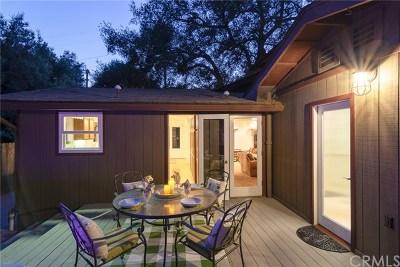 Modjeska Canyon, Silverado Canyon Single Family Home For Sale: 17272 Harding Canyon Road