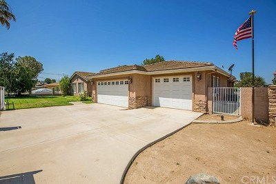 Norco Single Family Home For Sale: 3068 Valley View Avenue