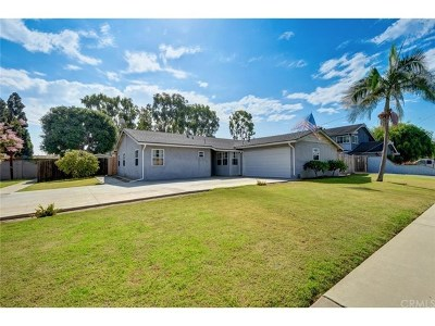 Huntington Beach Single Family Home For Sale: 18232 Hartlund Lane