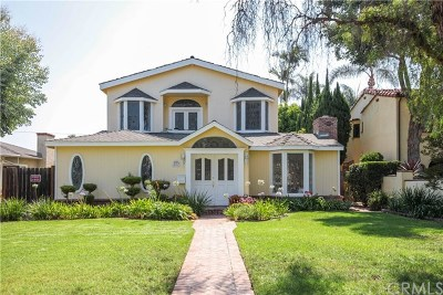Long Beach Single Family Home For Sale: 4210 Linden Avenue
