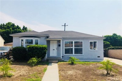 Whittier CA Single Family Home For Sale: $489,999