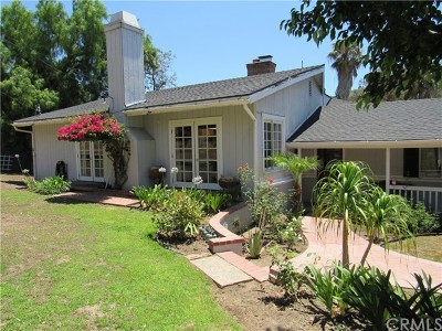 Santa Ana Single Family Home For Sale: 10522 Brier Lane