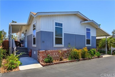 San Juan Capistrano Mobile Home For Sale: 32302 Alipaz Street