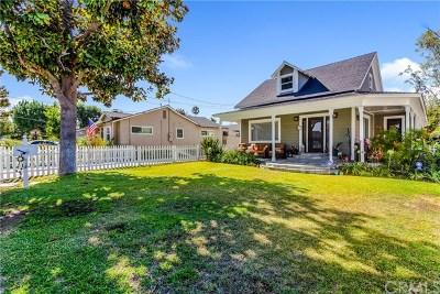 Orange Single Family Home For Sale: 1044 E Palmyra Avenue