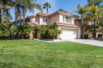 Rancho Santa Margarita Single Family Home For Sale: 17 Las Castanetas