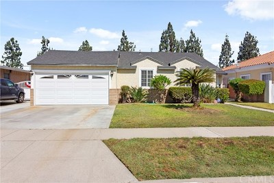 Downey Single Family Home For Sale: 10549 Pangborn Avenue