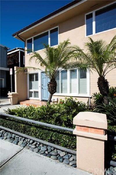 Newport Beach Rental For Rent: 107 19th